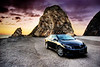 Katie's Corolla S : Shot at Pt. Mugu Rock